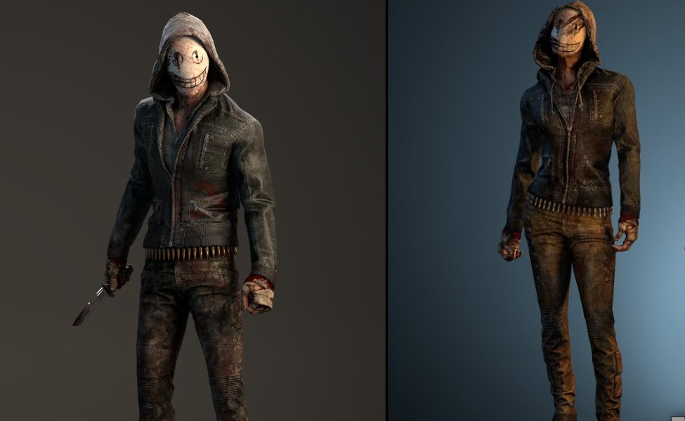The Legion (Frank and Julie) from Dead by Daylight