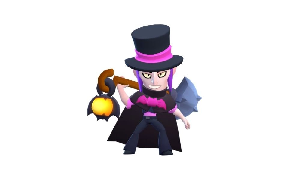 Top Hat Mortis from Brawl Stars