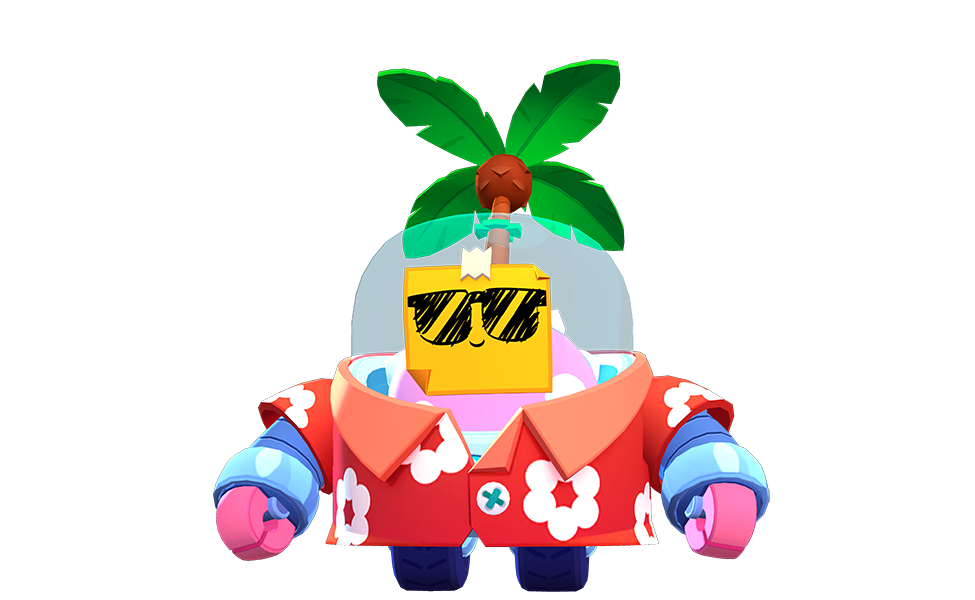Tropical Sprout from Brawl Stars