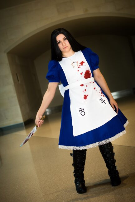 LadyPwncess as American McGees Alice from PAX South 2020