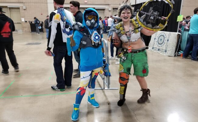 LadyPwncess as Graffiti Tracer from PAX South 2019