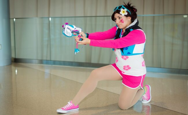 LadyPwncess as Waveracer Dva from PAX South 2020