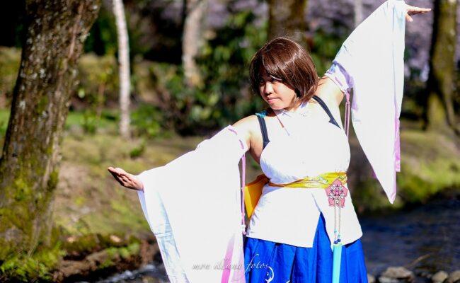 Pōhutukaryl Cosplay as Yuna from Final Fantasy X
