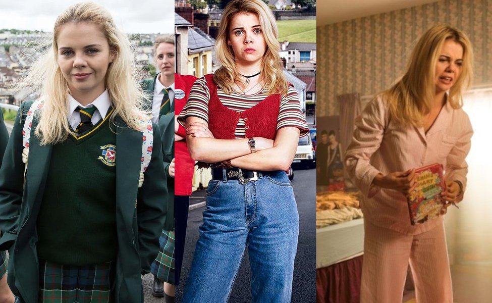 Erin Quinn from Derry Girls