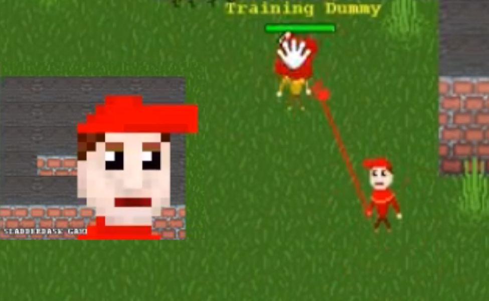 Flammadask Player from Sladderdask