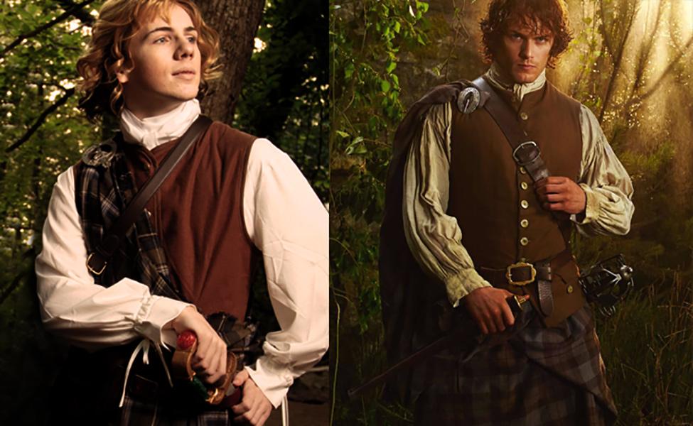Make Your Own: Jamie Fraser from Outlander