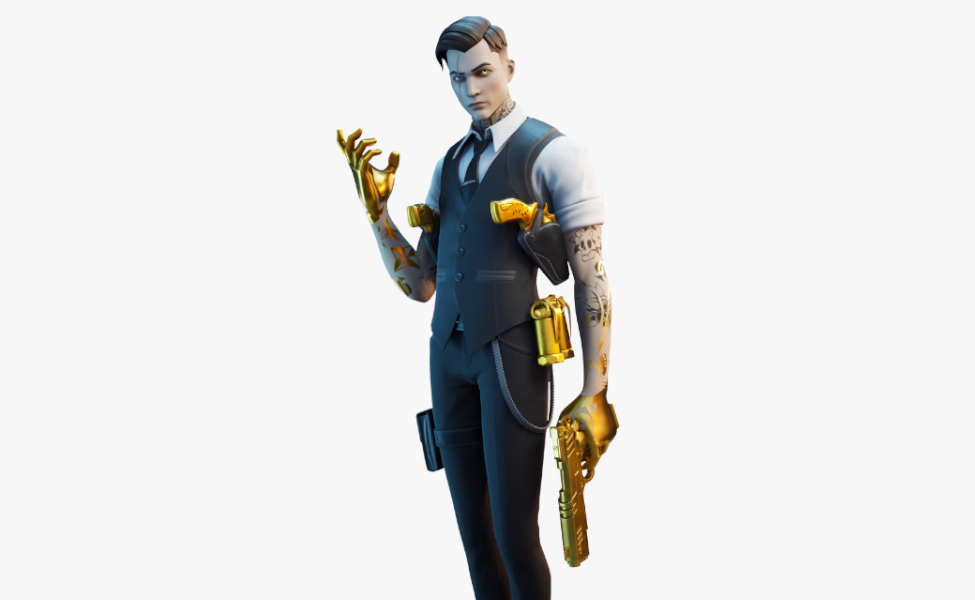 Midas from Fortnite