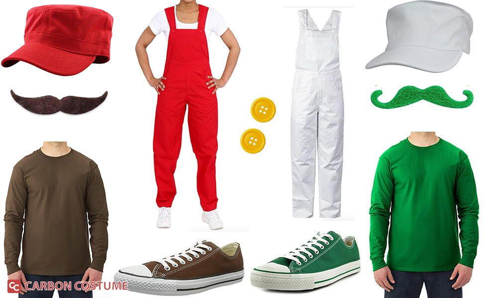 Super Mario Brothers from NES Costume
