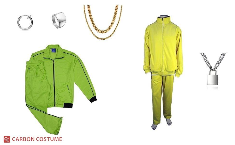 """TMG in """"Broke B*tch"""" Costume"""