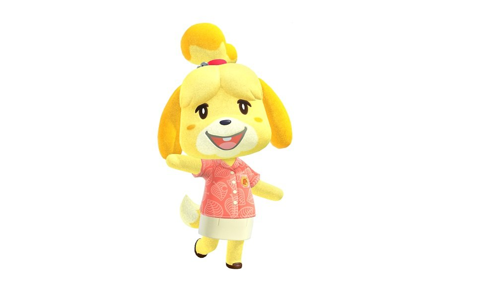 Isabelle from Animal Crossing: New Horizons