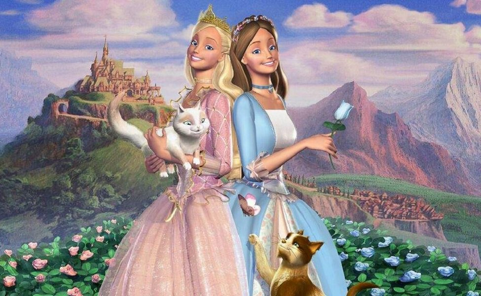 Princess Annalise from Barbie as The Princess and the Pauper
