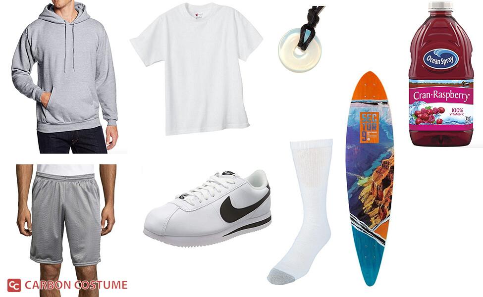 Cranberry Juice Skateboarder Costume