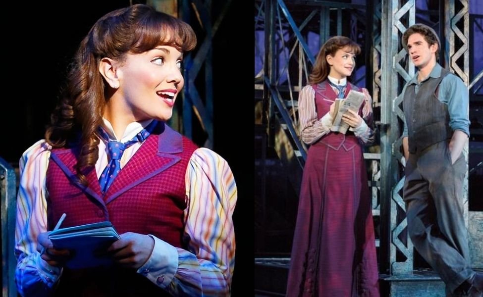 Katherine Plumber from Newsies