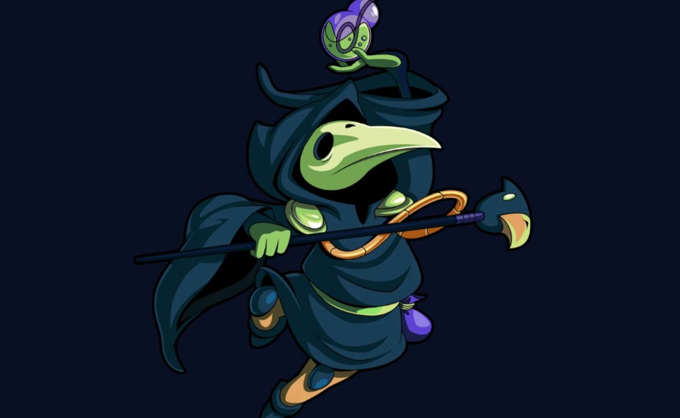 Plague Knight from Shovel Knight
