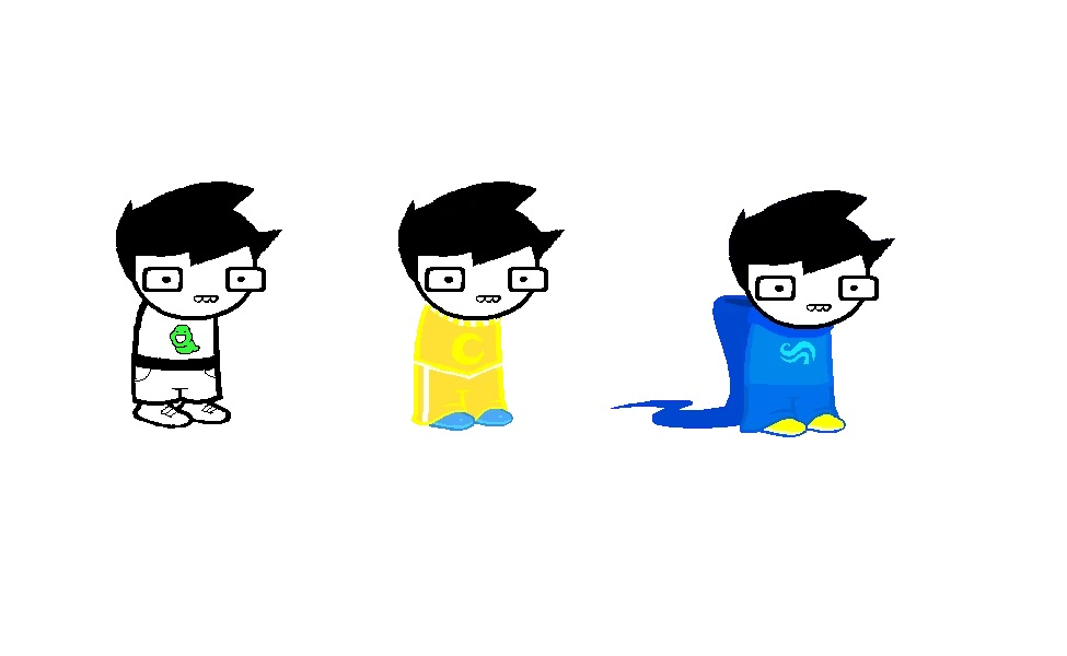 John Egbert from Homestuck