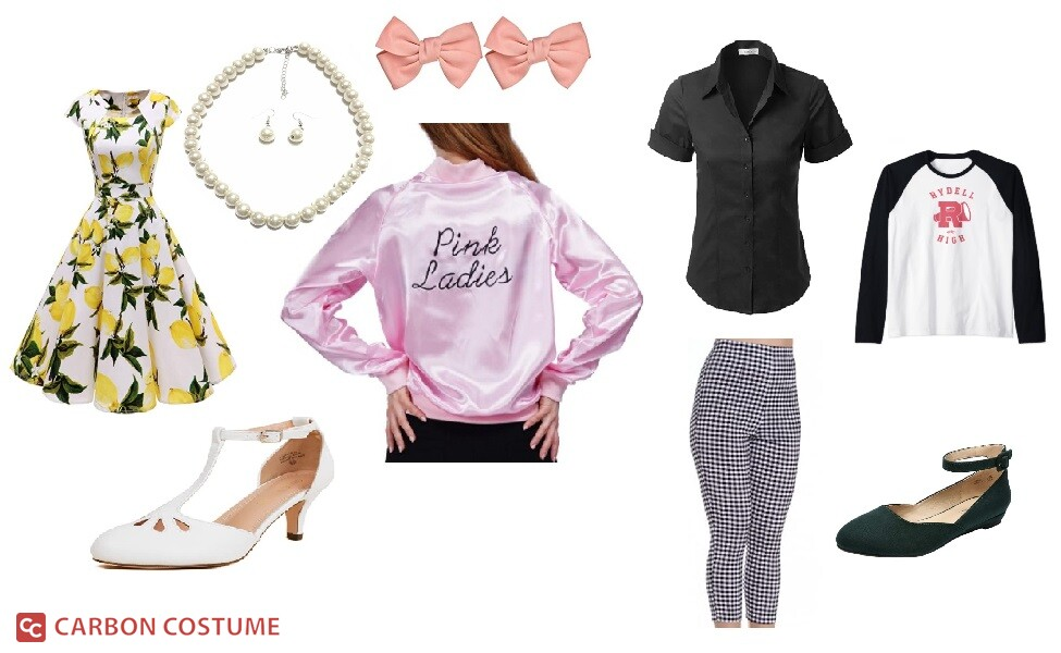 The Pink Ladies from Grease Costume