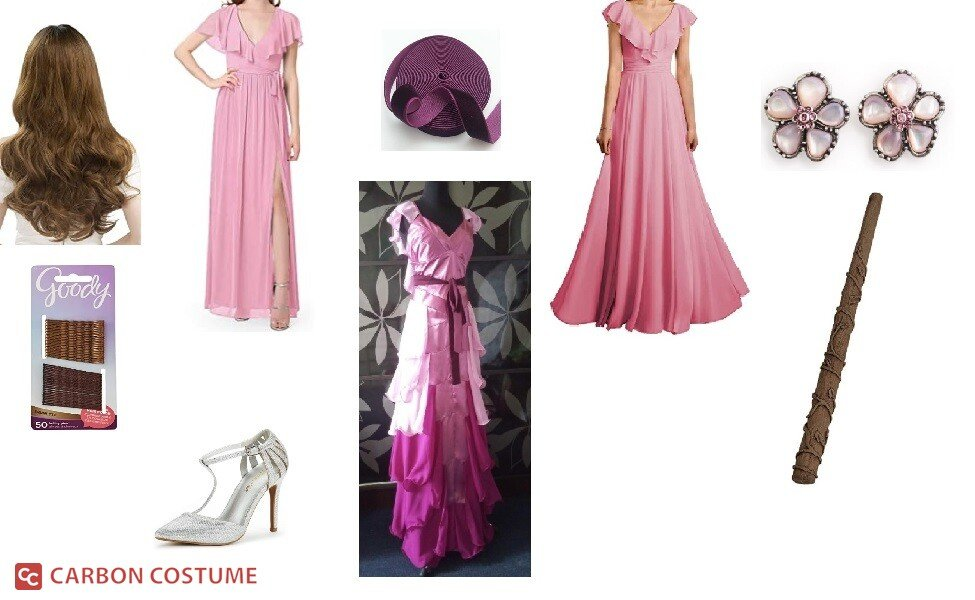 Yule Ball Hermione Granger from Harry Potter and Goblet of Fire Costume
