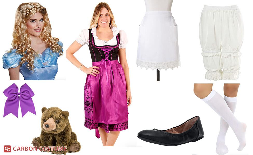 Goldilocks from Purple Mattress Costume