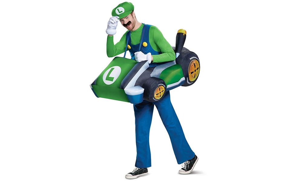 Luigi Costume from Mario Kart