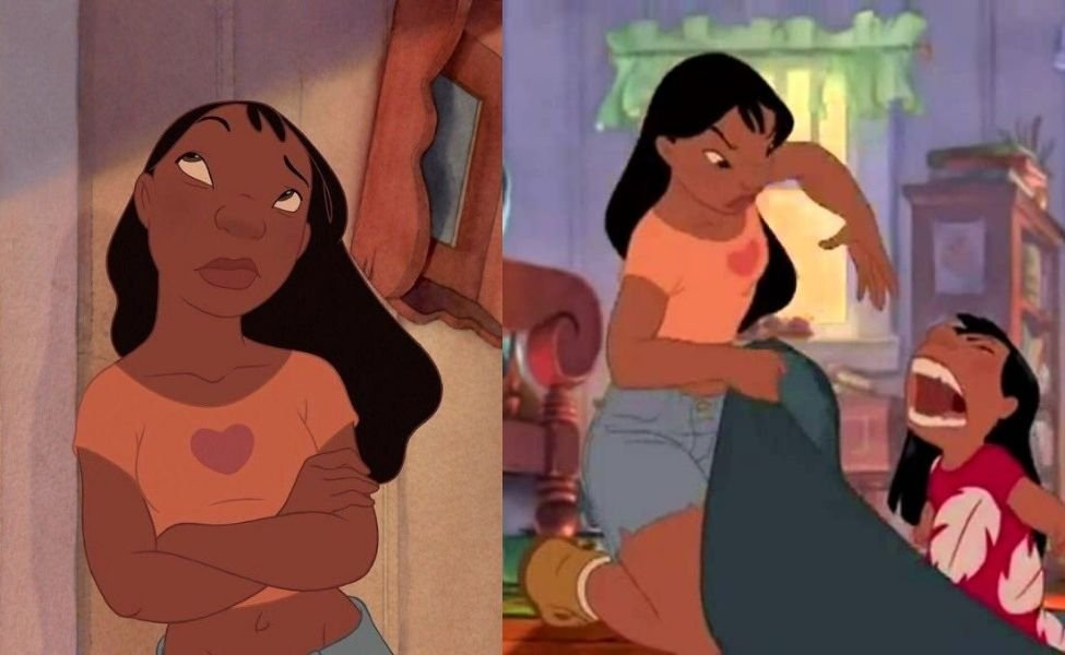 Nani from Lilo and Stitch
