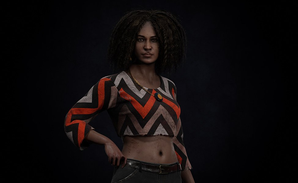 Élodie Rakoto from Dead by Daylight