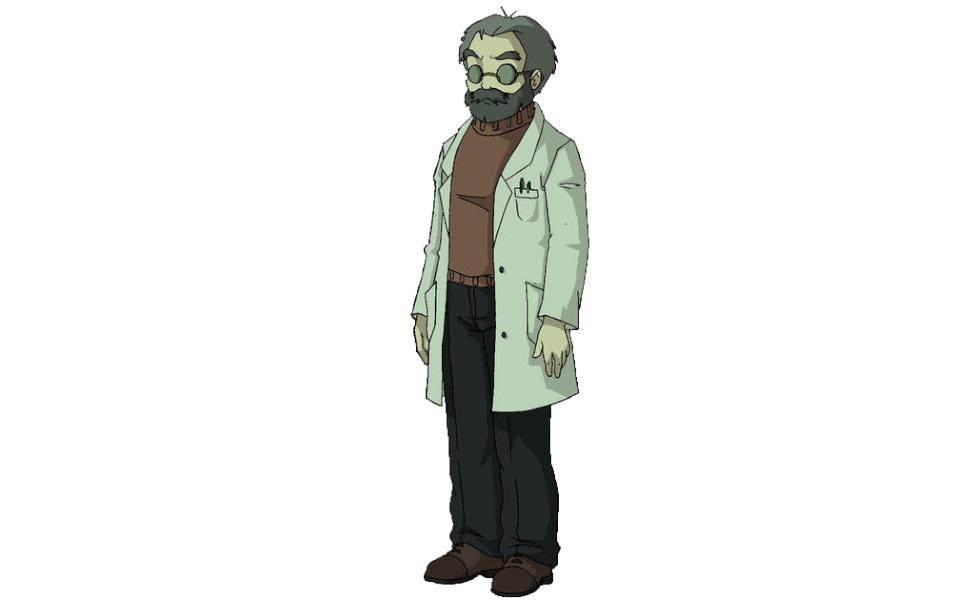 Franz Hopper from Code Lyoko