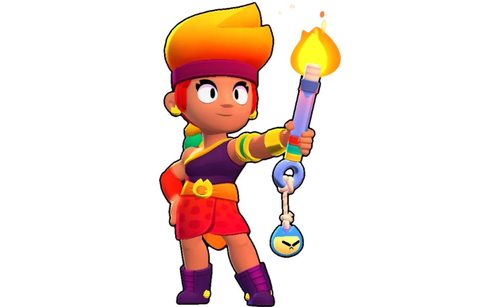 Amber from Brawl Stars
