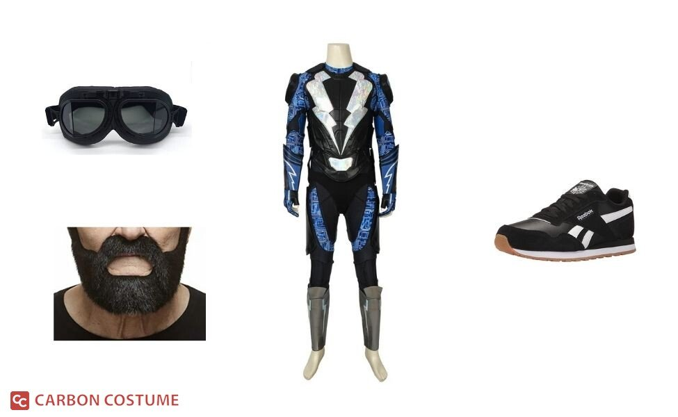 Black Lightning Costume