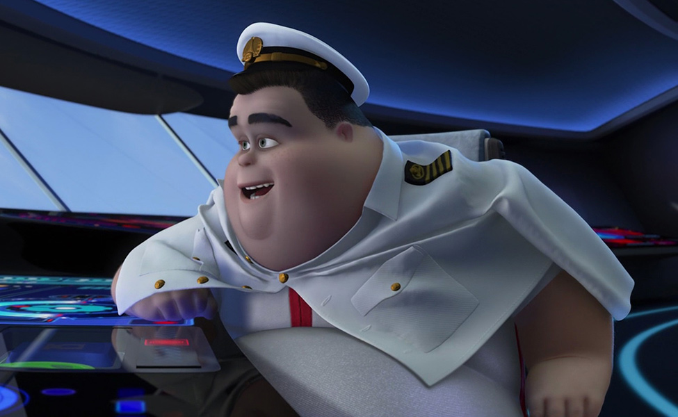 Captain B. McCrea from Wall-E