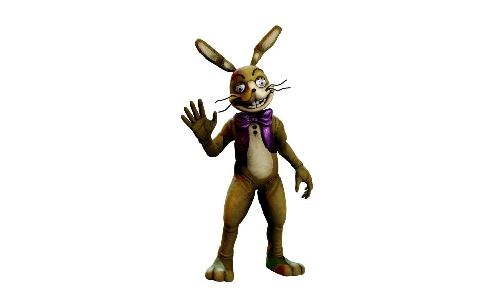 Glitchtrap from Five Nights at Freddy's