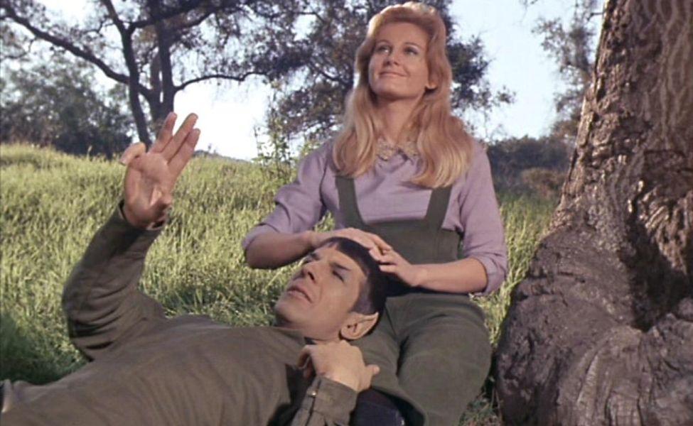 Leila Kalomi from Star Trek