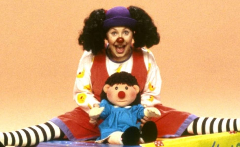 Loonette the Clown from The Big Comfy Couch