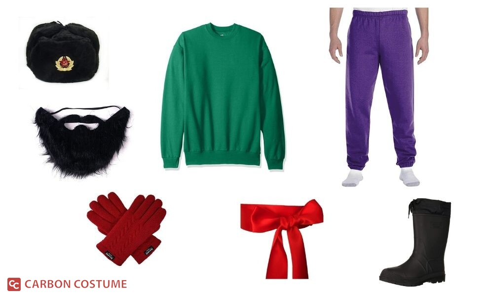 Rasputin/Russian Man from Just Dance 2 Costume