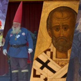 Santas on Parade: Santa Costumes Around the World and Through the Ages
