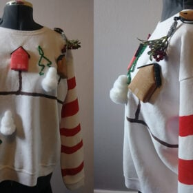The Ugliest Holiday Sweater in the World