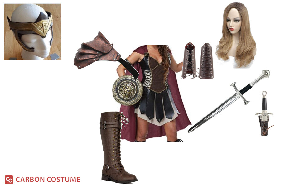Antiope from Wonder Woman Costume