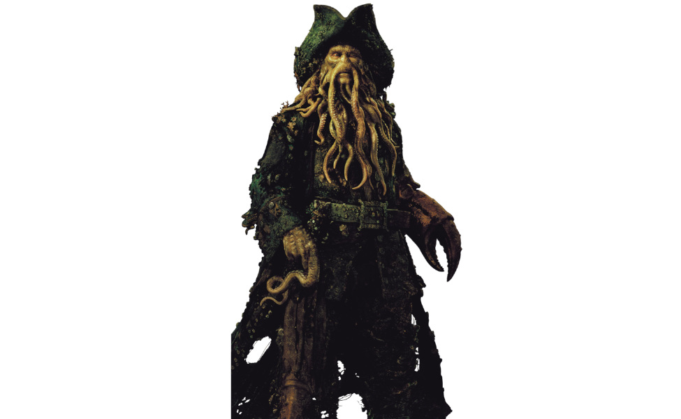 Davy Jones from Pirates of the Caribbean