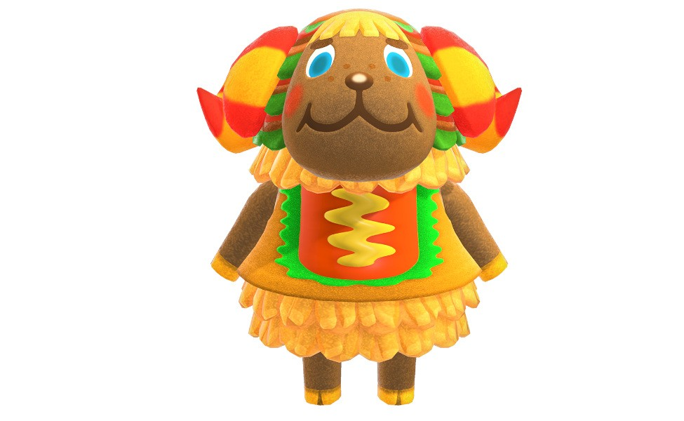 Frita from Animal Crossing