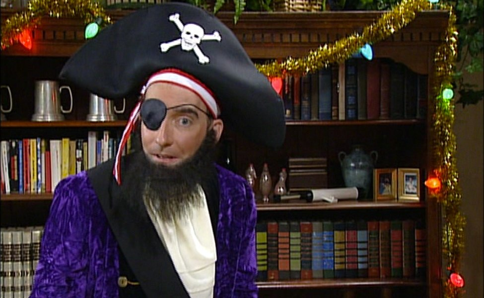 Patchy the Pirate from SpongeBob SquarePants