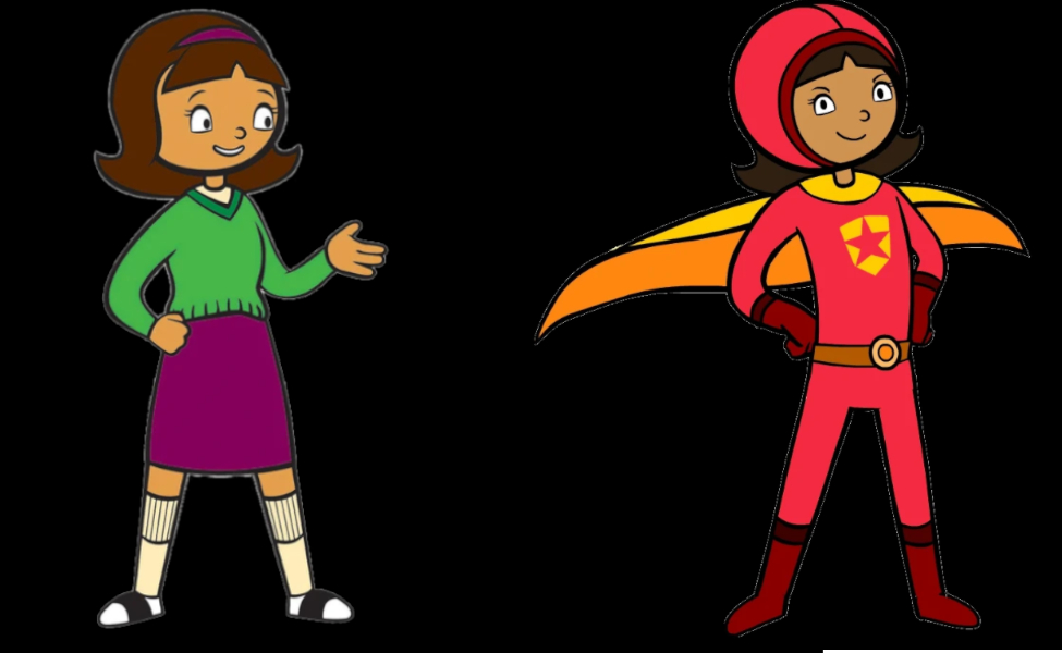Becky Botsford from WordGirl