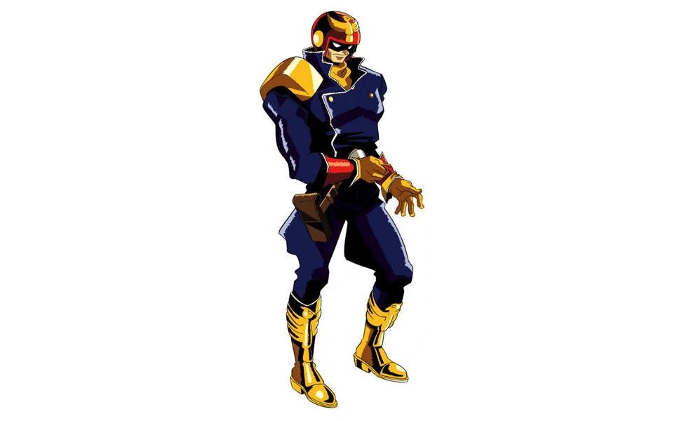 Captain Falcon from F-Zero