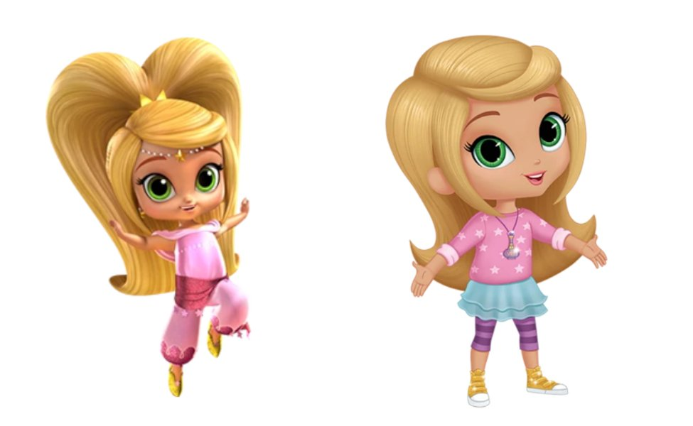 Leah from Shimmer and Shine