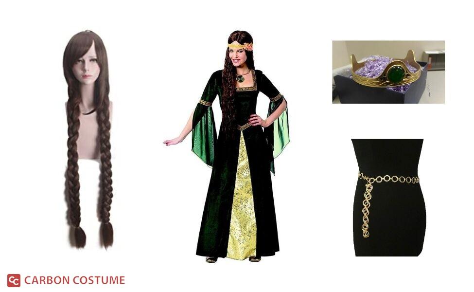 Queen Elinor from Brave Costume