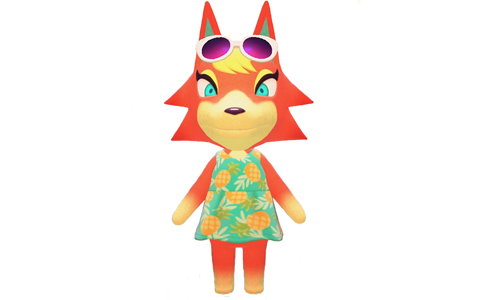 Audie from Animal Crossing