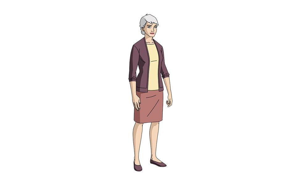 Aunt May from Marvel Comics