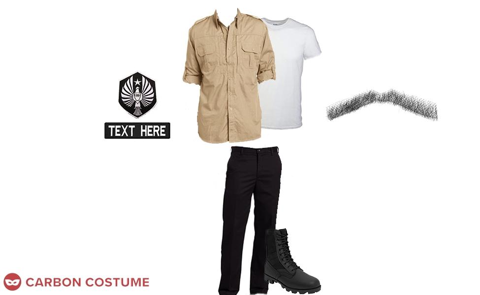 Jake Pentecost from Pacific Rim Uprising Costume