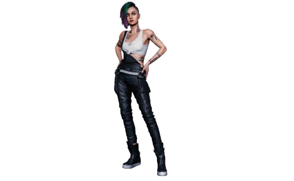 Judy Alvarez from Cyberpunk 2077