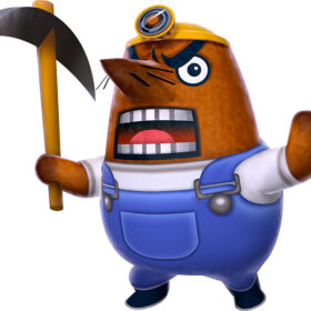 Mr. Resetti from Animal Crossing