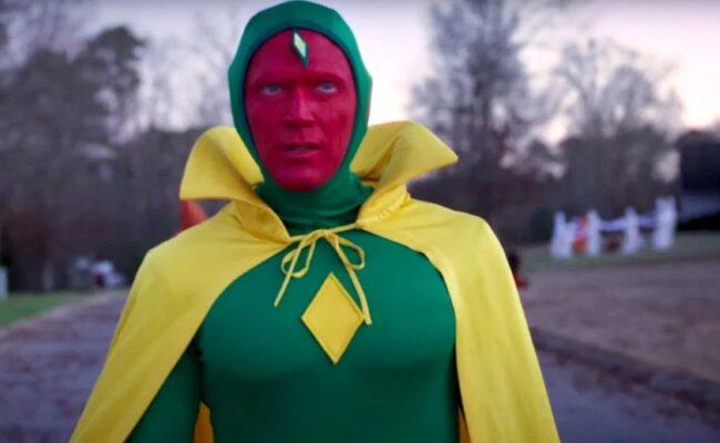Vision's Halloween Costume from WandaVision