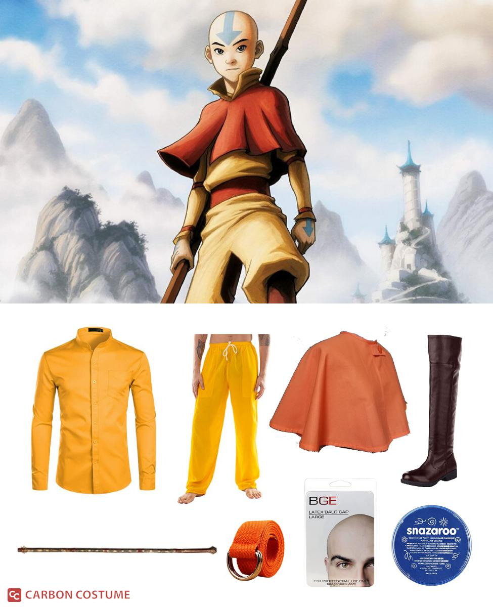 Aang from Avatar: The Last Airbender Cosplay Guide